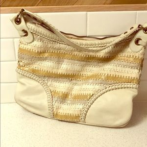 Isabella Fiore woven bag